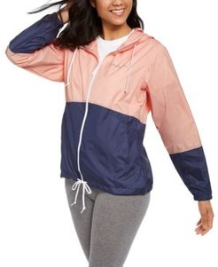 Plus Size Flash Forward Windbreaker