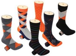 Snazzy Collection Dress Socks Pack of 6
