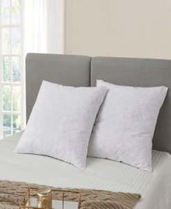 Feather Euro Square Pillow - 2 Pack