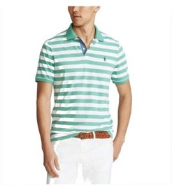 Classic Fit Striped Jersey Polo Shirt