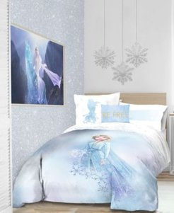 Frozen 2 'Elsa Color block' 6pc Twin bed in a bag Bedding