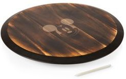 Toscana by Picnic Time Disney's Mickey Mouse Lazy Susan Serving Tray