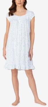 Short Cap Sleeve Nightgown