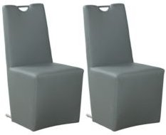 Evie Upholstered Handle-Back Side Chair, Set of 2