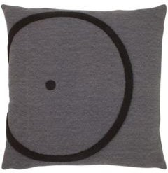 """Everyday Off Center Circle Square Pillow, 18"""" x 18"""" Bedding"""