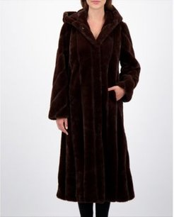 Faux-Fur Maxi Coat