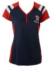Boston Red Sox Triple Play Henley Shirt