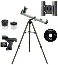 800mm x 80mm Astronomical Reflector Telescope Kit with Solar Filter Cap