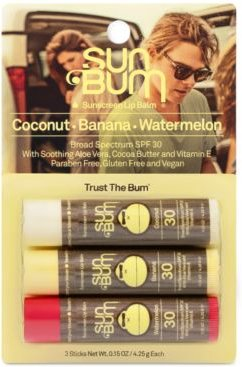 Original Spf 30 Sunscreen Lip Balm, 3-Pk.