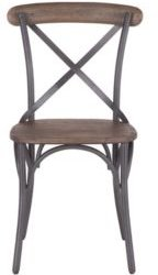Anderson Dining Chairs with Wood Seat, Set of 2