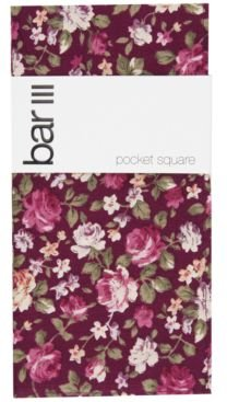 Chester Floral Pocket Square, Created for Macy's