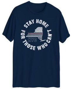 Stay Home Nyc Short Sleeve T-shirt