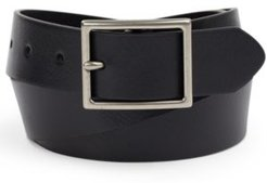 Faux Leather Belt, Created for Macy's