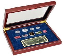 Declaration of independence Coin and Stamp Collection