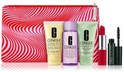 Receive a Free 6-pc Gift with any $35 Clinique purchase!