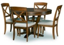 Highland Round Dining Table 5-Pc. ( Round Table & 4 Side Chair), Created for Macy's