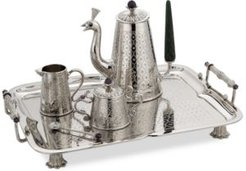 20th Anniversary Collection Stainless Steel Mughal Garden Tea Set