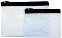 Set of 2 Travel Spill-Resistant Pouches