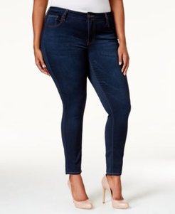 Trendy Plus & Petite Plus Size Super-Soft Walker Skinny Jeans