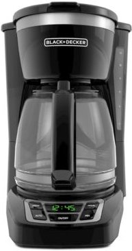 12-Cup Programmable Coffee Maker, Black, CM1160B
