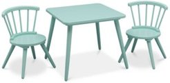 Children Windsor Table and 2 Chair Set