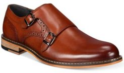 Jesse Leather Monk-Strap Oxfords, Created for Macy's Men's Shoes