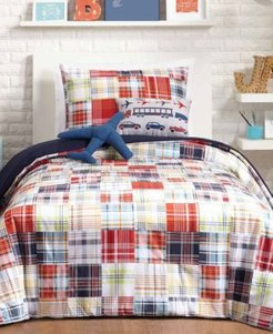 Bryce Reversible 4-Pc. Twin Comforter Set Bedding