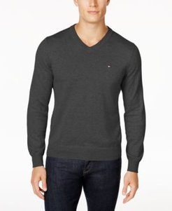 Signature Solid V-Neck Sweater, Created for Macy's