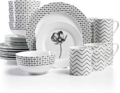 Stella 32-Pc Set Service for 8, Created for Macy's
