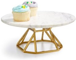 Round Marble Elevated Server, Created for Macy's