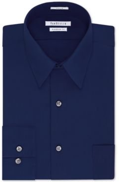 Classic-Fit Poplin Dress Shirt