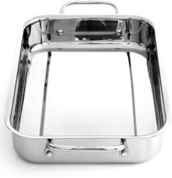 """Chef's Classic Stainless Steel 13.5"""" Lasagna Pan"""