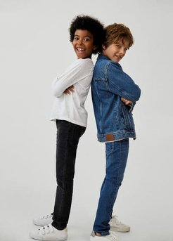 Slim-fit jeans medium blue - 8 - Kids