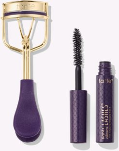 picture perfect™ eyelash curler & deluxe lights, camera, lashes™ mascara
