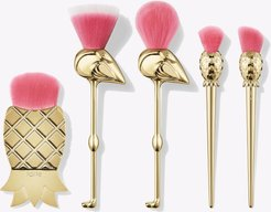let's flamingle brush set - multi