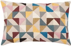 Harlequin Linen Pillow - 40x60cm - Multi