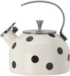 Deco Dot Kettle - Black
