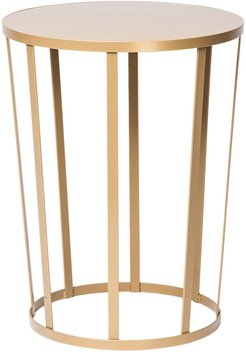 Hollo Stool/Side Table - Gold