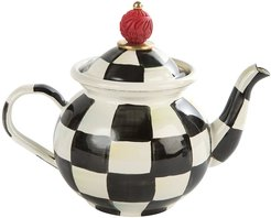 Courtly Check Tea For Me Pot
