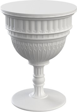 Capitol Side Table - White