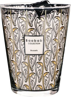 Brussels Art Nouveau Scented Candle - Limited Edition - 24cm