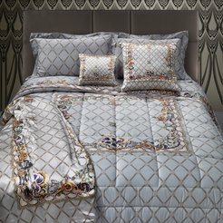 New Spider Bed Set - Gray - King