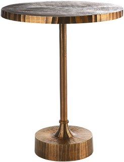 Mace Table - Antique Brass