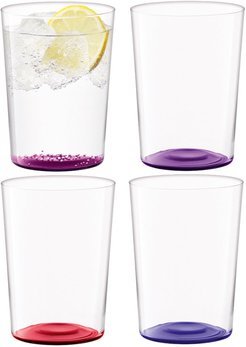 Coro Assorted Tumblers - Set of 4 - Berry - Large