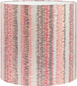 Textured Stripe Lamp Shade - Oyster - Large