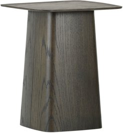Wooden Side Table - Black - Small