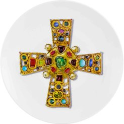 Love Who You Want Dessert Plate - Byzantine