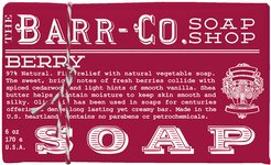 Scented Soap Bar - Berry