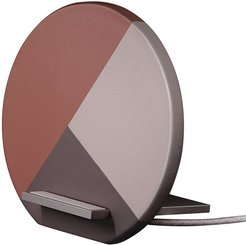Dock Marquetry Wireless Charger - Rose