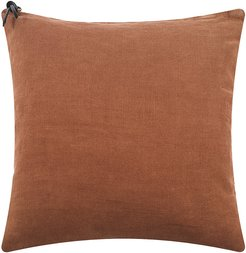 Linen Pillow Cover - 45x45cm - Terracotta